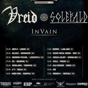 In Vain Europe Tour