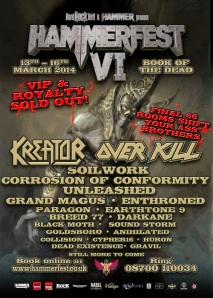 Hammerfest 6 poster aug 2013
