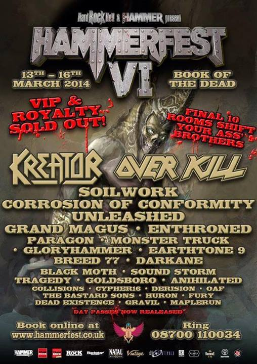 Hammerfest 6 poster Sep 2013 with Fury