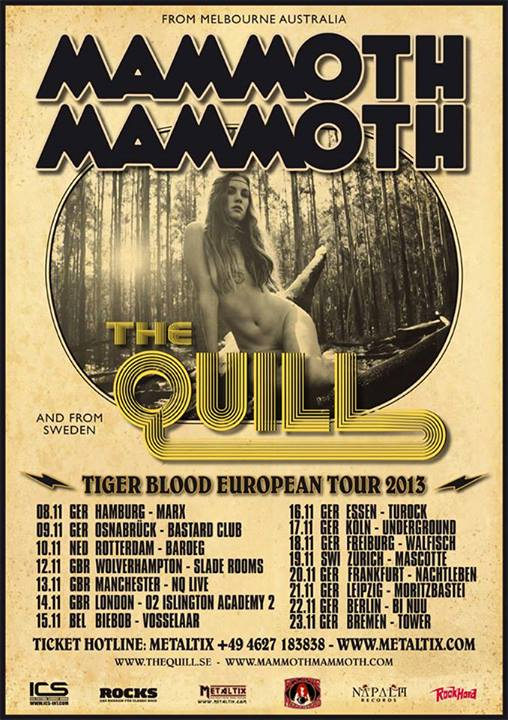 Mammoth Mammoth Tour Poster