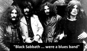 black sabbath were a blues band