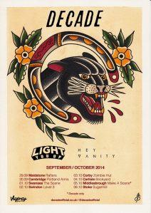 Decade tour dates